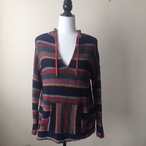American Eagle Outfitters Multi Color Hoodie